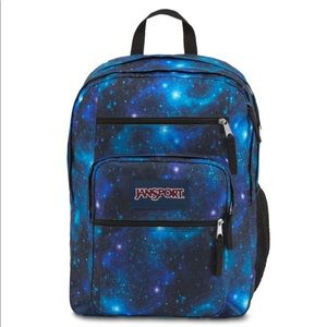 NWT Jansport Big Student Galaxy Backpack